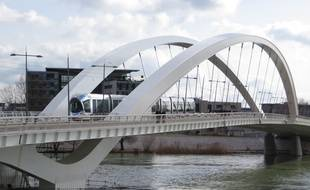 A Lyon, la fréquentation du tramway a augmenté de 15% en 2013. C.Girardon / 20 Minutes