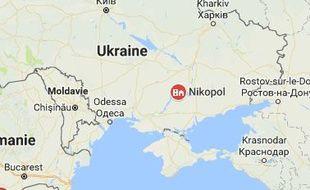 L'incident s'est produit dans la ville de Nikopol, à moins de 250 kilomètres de l'est séparatiste ukrainien.