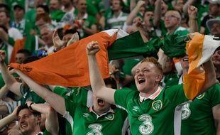Les supporters de l'Irlande à Lille, le 22 juin 2016, à Lille.