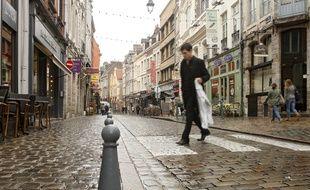 Lille, le 20 juin 2011, dans la rue de la Monnaie.