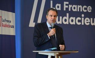 Renaud Muselier est président de la région Paca