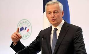 Bruno Le Maire lors de la présentation du plan d relance