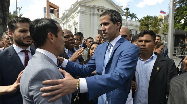 Juan Guaidó rencontre un diplomate français, le Venezuela proteste