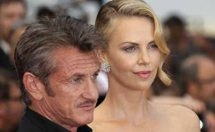 Sean Penn et Charlize Theron au Festival de Cannes en mai 2015