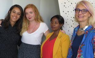 Chaima, Pauline, Touroussi et Michèle se sont portées volontaires pour effectuer des rondes dans les bus lyonnais et dénoncer tout ce qui ne va pas, pointant notamment l'insécurité y régnant.
