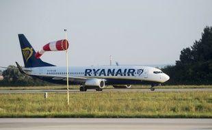 Un appareil de la compagnie aérienne Ryanair