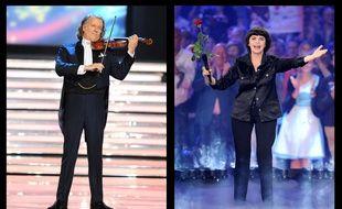 André Rieu et Mireille Mathieu ont sorti de nouveaux albums en novembre 2015