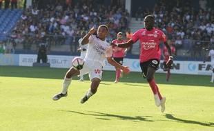 Le MHSC (ici Junior Sambia) s'est facilement débarrassé des Girondins de Bordeaux