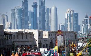 Le skyline de Doha, au Qatar, le 20 janvier 2015.