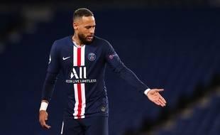 Neymar lors du 8e de finale retour de Ligue des champions entre le PSG et Dortmund, le 11 mars 2020.