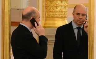 Le ministre russe des Finances Anton Silouanov, au Kremlin à Moscou le 25 décembre 2013