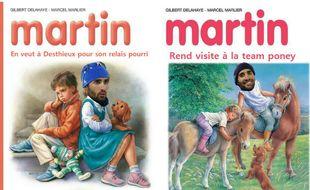 Martin et ses copains.