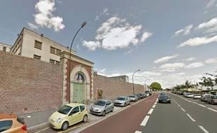 La maison d'arrêt d'Amiens.