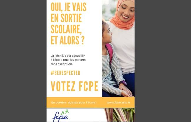 Affiche de la FCPE: Pourquoi le sujet des sorties scolaires avec des mères voilées refait-il surface?