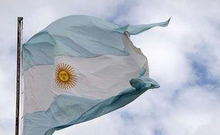 Illustration: le drapeau argentin.