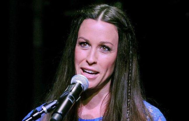 La chanteuse canadienne Alanis Morissette