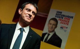 Manuel Valls en campagne pour la primaire à gauche