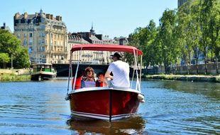 Lancé samedi, le service de location de bateaux électriques sera proposé jusqu'au 3 novembre.
