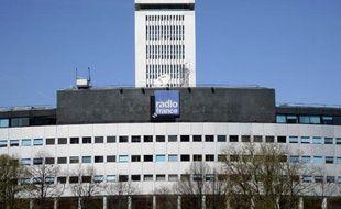 Le bâtiment de Radio France, le 13 avril 2015