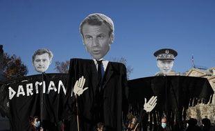 Manifestation contre la loi « Sécurité globale », à Paris le 28 novembre 2020.