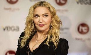 Madonna à Toronto le 11 février 2014.