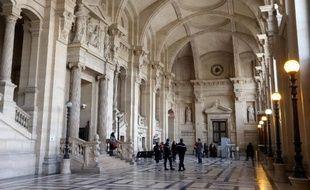 Vue du palais de justice de Paris