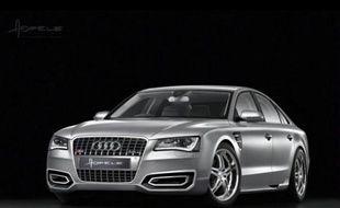 La nouvelle Audi 8 au Salon de Genève 2010