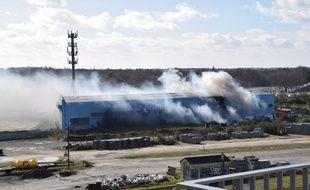 Un incendie s'est déclaré rue Saint-Domingue à Nantes, mardi 4 février 2020
