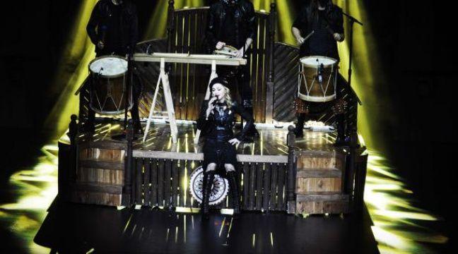 Madonna jeudi 26 juillet à l'Olympia. – Guy Oseary/AP/SIPA
