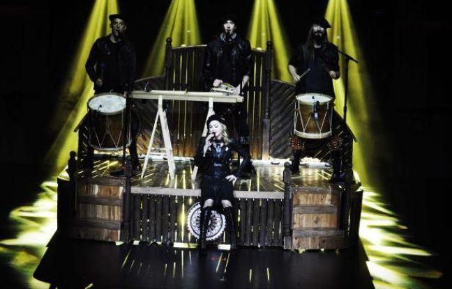 Madonna jeudi 26 juillet à l'Olympia.