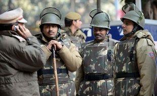 Des policiers indiens (illustration).