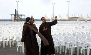 Les chrétiens syriens espèrent obtenir un encouragement du pape à rester dans leur pays en dépit de la détérioration de la situation depuis le début de la révolte contre le régime il y a 18 mois.