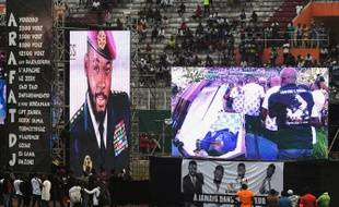 La dépouille de DJ Arafat exposée au stade Félix-Houphouët-Boigny le 31 août