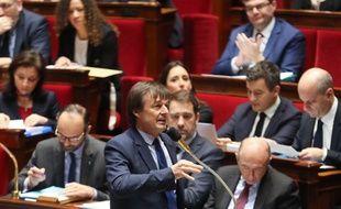 Nicolas Hulot le 24 janvier 2018 à l'Assemblée Nationale.