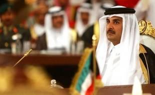 L'émir du Qatar Cheikh Tamim ben Hamad Al-Thani à Doha le 9 décembre 2014