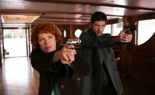 Véronique Genest dans l'épisode 78 de « Julie Lescaut ».