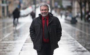 Vincent Maurin, candidat aux Municipales pour le Front de Gauche.