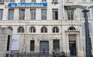 Les locaux de La Marseillaise, à Marseille le 17 novembre 2014