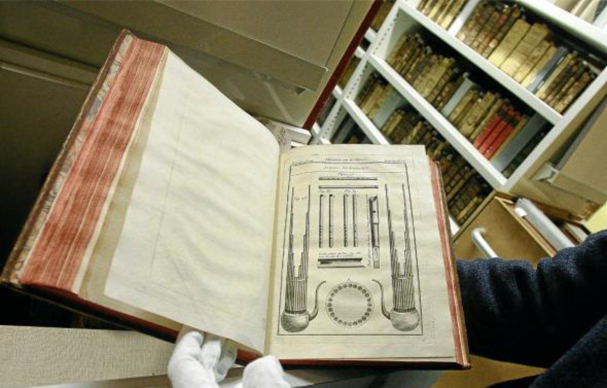 Ces manuscrits rares sont accessibles au public dans le cadre du festival. –  f . scheiber / 20 minutes