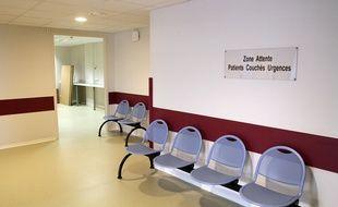 Un service d'urgences dans un hôpital (illustration).