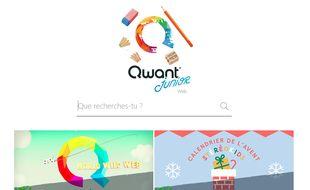 Qwant Junior, le moteur de recherche destiné aux enfants.