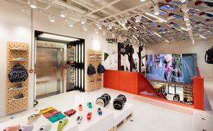 le premier étage du magasin Citadium à Bordeaux