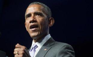 Le président des Etats-Unis Barack Obama à Washington, le 9 juin 2015
