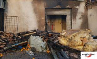 Les dégâts au Carrefour market de la rue Jean-Jaurès à Rezé