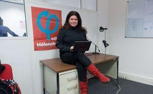 Jean-Mélenchon vient au secours de sa porte-parole critiquée Raquel Garrido