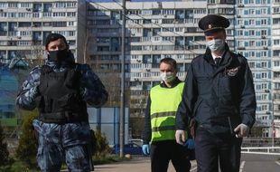 Le coronavirus frappe aussi la Russie