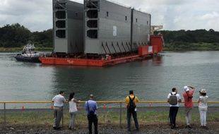Les travaux d'élargissement du canal de Panama, qui ouvrira une nouvelle voie en 2015, viennent d'entrer dans leur dernière phase à un an du centenaire de la route maritime interocéanique par laquelle transite 5% du commerce mondial.