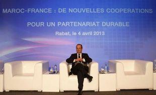 """Le président François Hollande a réaffirmé aux familles des Français enlevés au Mali, qu'il a reçues vendredi à l'Elysée, """"sa détermination à obtenir leur libération"""", selon un communiqué de la présidence"""