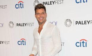 Le chanteur Ricky Martin
