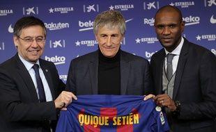 Quique Setien est le nouvel entraîneur du FC Barcelone